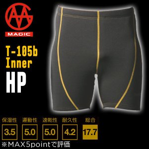 16/17 MAGIC(マジック) T105b INNER HP ハーフパンツタイプ サーフインナー|move