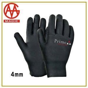 サーフィン 保温 防寒 手袋 グローブ 16/17 マジック MAGIC PRIME GLOVE 4mm 5フィンガー プライムグローブ|move