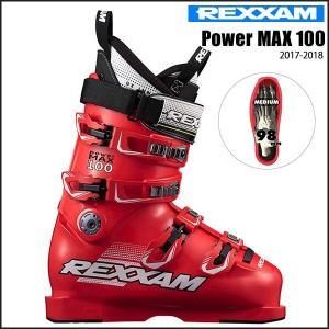 スキー スキーブーツ 靴 17-18 REXXAM レグザム Power MAX 100|move