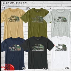ザ・ノース・フェイス THE NORTH FACE  ショートスリーブカモフラージュロゴティー S/S CAMOUFLA LG TEE  Tシャツ(TNF_2018SS) NT31622|move