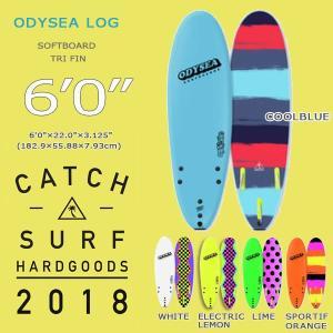2018 CATCH SURF(キャッチサーフ) ODYSEA LOG 6'0 TRI FIN ラウンドノーズ ソフトボード SOFT トライFIN付き 【cath5】|move