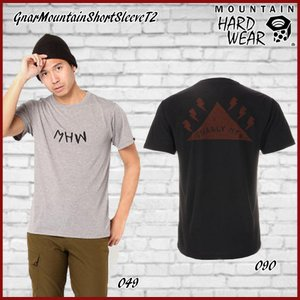 マウンテンハードウェア MOUNTAIN HARD WEAR GnarMountainShortSleeveT2 18ddscn|move