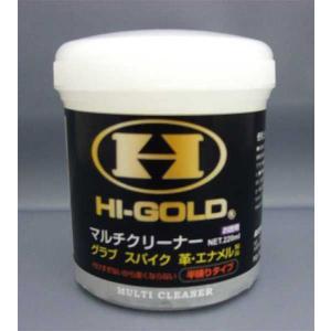 HI-GOLD ハイゴールド マルチクリーナー 半練りタイプ -220g- move