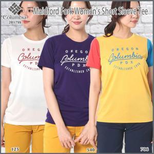 Columbia(コロンビア) メイドフォードフォークウィメンズショートスリーブTシャツ PL2651 (Columbia_2017ss)|move