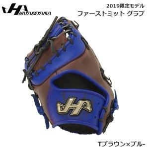 野球 ファーストミット グラブ 一般軟式  ハタケヤマ HATAKEYAMA  捕手  限定 Tブラウン×ブル- 新球対応 move