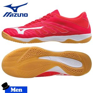 フットサルシューズ メンズ ミズノ MIZUNO バサラ103 ピンク/ホワイト|move