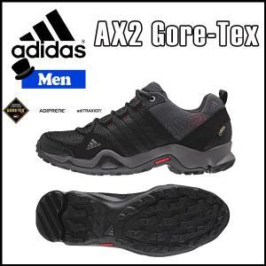 adidas(アディダス) AX2 GTX  ダークシェール/ブラック/ライトスカーレット (odadi)