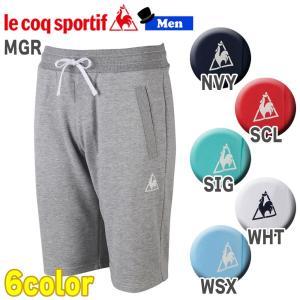 トレーニングウェア スポーツカジュアル ルコックスポルティフ le coq sportif スウェットハーフパンツ メンズ 一般|move