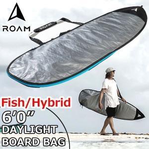 ROAM ローム FISH/HYBRID DAY LIGHT BAG 6'0サーフボード フィッシュ&幅広ボード ハードケース 普段使い向け|move