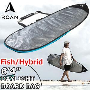 ROAM ローム FISH/HYBRID DAY LIGHT BAG 6'4サーフボード フィッシュ&幅広ボード ハードケース 普段使い向け move