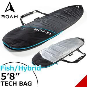 ROAM ローム FISH/HYBRID TECH BAG 5'8サーフボード フィッシュ&幅広ボード ハードケース トリップ向け|move