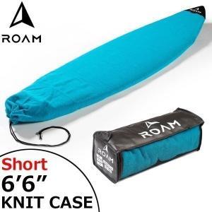 ROAM ローム SURFBOARD SOCK 6'6 BLUE サーフボード ショートボード ニットケース|move
