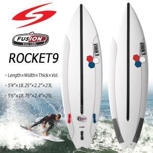 SURFTECH(サーフテック) アルメリック ROCKET9 FUSION DUAL CORE ロケットナイン サーフボード 5'4 5'6|move
