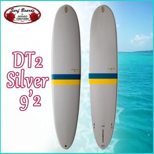 DONALDO TAKAYAMA  DT2 Silver TLPC 9'2   サーフテック ドナルドタカヤマ エポキシ ロングボード 【old-hpd】|move