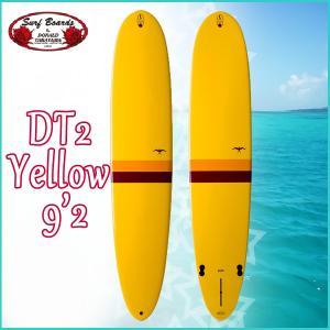 DONALDO TAKAYAMA  DT2 Yellow TLPC 9'2  サーフテック ドナルドタカヤマ エポキシ ロングボード 【old-hpd】|move