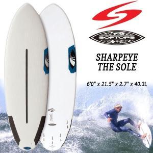 サーフボード ソフトボード SURFTECH(サーフテック) 6'0 SHARPEYE THE SOLE SOFTOP シャープアイ|move