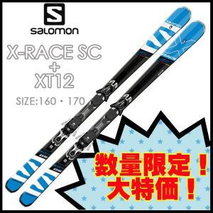 スキー+ビンディングセット スキー SALOMON サロモン X-RACE SC + M XT12 C90|move