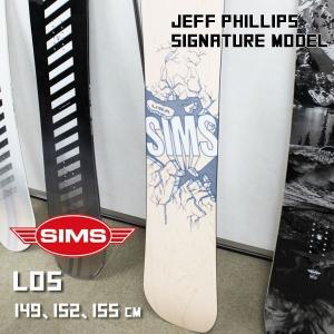 スノーボード 板 18-19 SIMS SNOWBOARDS シムス LOS ロス|move
