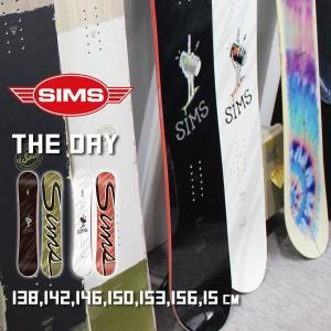 スノーボード 板 18-19 SIMS SNOWBOARDS シムス THE DAY ザデイ|move