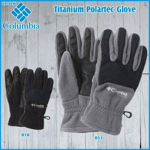 Columbia(コロンビア) MTitaniumPolartecGlove  タイタニックポーラテックグローブ/SM9807 (Columbia_2016FW)  (PDN)|move