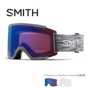 スノーボード ゴーグル ハイコントラスト 18-19 SMITH スミス SQUAD XL スカッドエックスエル CLOUDGREY  CHROMAPOP PHOTOCHROMIC ROSE FLASH CLEAR|move