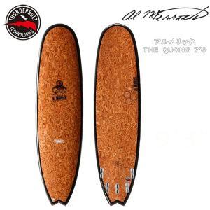 サーフボード ミドルレングス 正規品 THUNDERBOLT(サンダーボルト) アルメリック THE QUONG 7'6 BASS WOODカーボン トンビ製 tonbi move