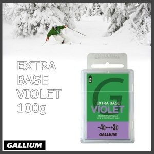 GALLIUM EXTRA BASE VIOLET(100g) ガリウム スノーボード専用ベースワックス|move