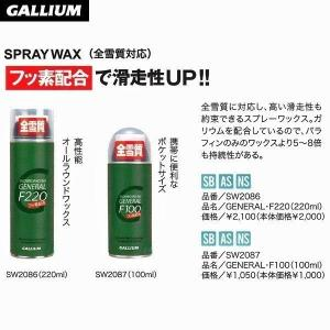 GALLIUM GENERAL・F 220(220ml) ガリウム チューンナップ用品|move