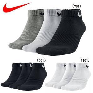 3足組 靴下 ナイキ NIKE 3P コットン クッション ローカット ソックス + モイスチャー マネジメント|move