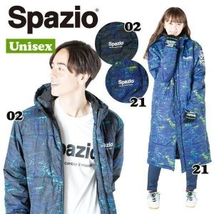 フットサルウェア スパッジオ Spazio ロゴ中綿ベンチコート サッカーウェア sc_gvcoat|move