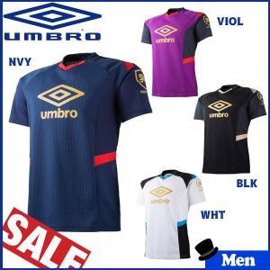 サッカーウェア アンブロ UMBRO GACH1 ガチ EX-AIR 半袖 プラクティス シャツ|move
