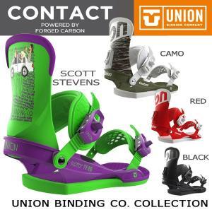 スノーボード バインディング 17-18 UNION ユニオン CONTACT  【予約商品 】|move