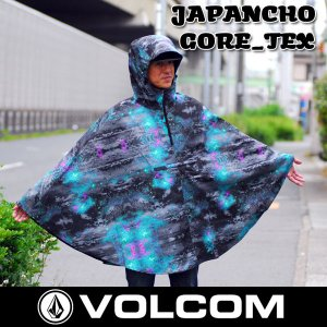 ポンチョ 雨具 フェス キャンプ VOLCOM ボルコム JAPANCHO GORE-TEX|move