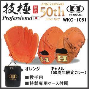 野球 グラブ グローブ 硬式 一般 ハイゴールド HI-GOLD 技極 Prefessional 投手用 日本製 HIGOLD last_bb bb-40|move