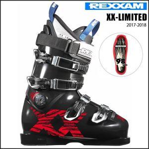 スキー スキーブーツ 靴 17-18 REXXAM レグザム XX-LIMITED|move