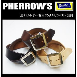 PHERROW'S フェローズ ベルト SBB1|moveclothing
