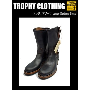TROPHY CLOTHING トロフィークロージング エンジニアブーツ Arrow Engineer Boots|moveclothing