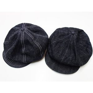 TROPHY CLOTHING トロフィークロージング キャップ Dirt Denim Newsboy Cap|moveclothing