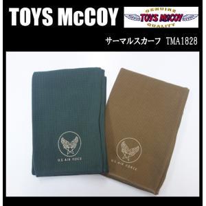 TOYS McCOY トイズマッコイ サーマルスカーフ TMA1828|moveclothing
