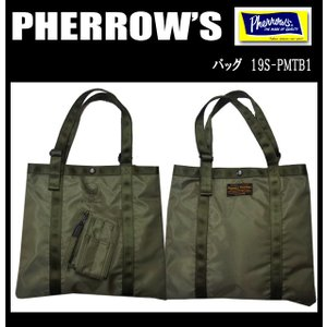 PHERROW'S フェローズ ミリタリーバッグ 19S-PMTB1|moveclothing