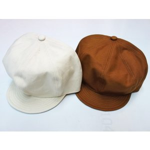 TROPHY CLOTHING トロフィークロージング 帽子 BROWNIE DUCK NEWSBOY CAP|moveclothing