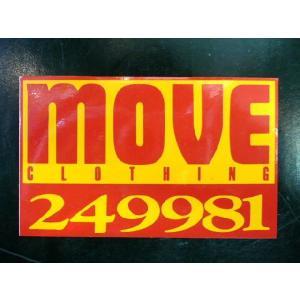 ムーヴクロージング ステッカー|moveclothing