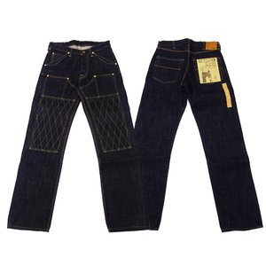 TROPHY CLOTHING トロフィークロージング  ジーンズ 1606SW W KNEE STANDARD DIRT DENIM|moveclothing