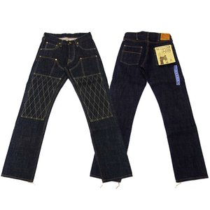 TROPHY CLOTHING トロフィークロージング ジーンズ 1608 W KNEE NARROW DIRT DENIM|moveclothing