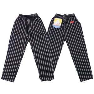 COOKMAN クックマン パンツ シェフパンツ Chef Pants 【Stripe BLACK】|moveclothing