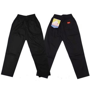 COOKMAN クックマン パンツ シェフパンツ Chef Pants 【Black】|moveclothing