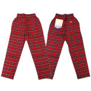 COOKMAN クックマン パンツ シェフパンツ Chef Pants Corduroy Tartan 【RED】|moveclothing