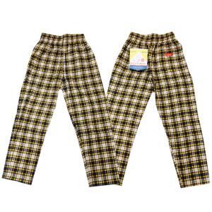 COOKMAN クックマン パンツ シェフパンツ Chef Pants Corduroy Tartan 【YELLOW】|moveclothing