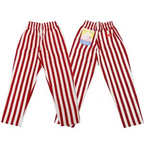 COOKMAN クックマン パンツ シェフパンツ Chef Pants 【Wide stripe Red】|moveclothing