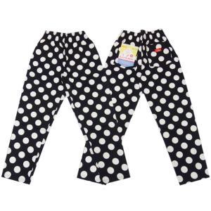 COOKMAN クックマン パンツ シェフパンツ Chef Pants 【Big dots Black】|moveclothing